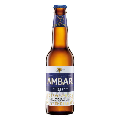 Ambar Celíacos Alcoholvrij Bier 0.0%