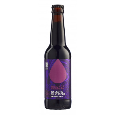 Big Drop Brewing Co. Galactic Milk Stout Alcoholvrij 0.5%