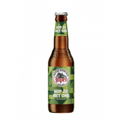Jopen Hop Zij Met Ons IPA Bier