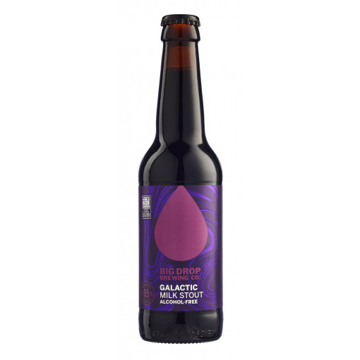Galactic Milk Stout Alcoholvrij 0.5% van Big Drop Brewing Co.