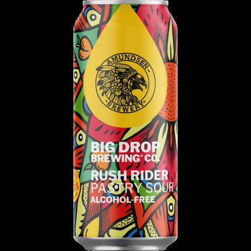 Rush Rider Pastry Sour Alcoholvrij 0.5% van Big Drop Brewing Co.