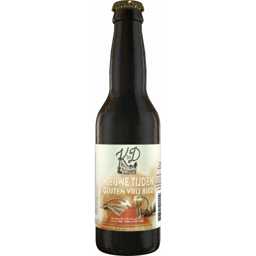 Nieuwe Tijden Lagerbier van Brouwerij Klein Duimpje