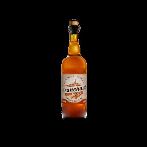 Amber Bier 75cl van Brunehaut