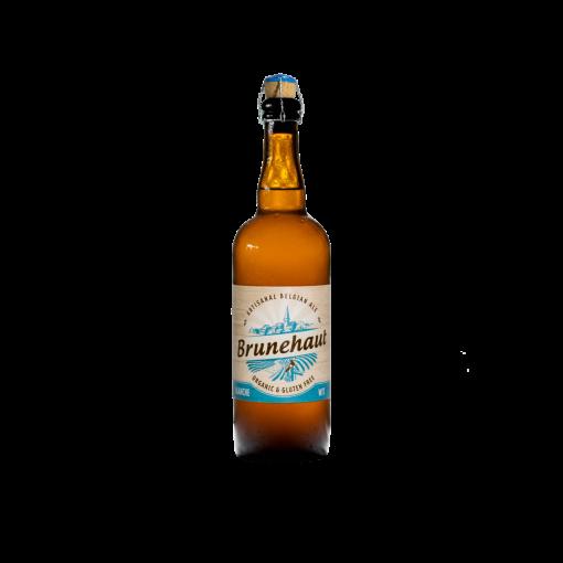 Wit Bier 75cl van Brunehaut