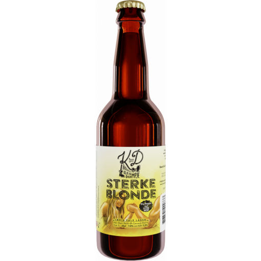 Sterke Blonde van Brouwerij Klein Duimpje