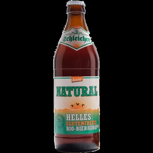 Natural Helles Bier (0.5 Liter) van Schleicher