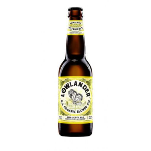 Lowlander Organic Blonde Ale 0.3%