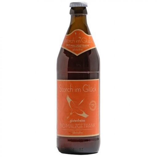 Schleicher Storch im Glück Bio Malzgetränk Alcoholvrij (0.5 Liter)