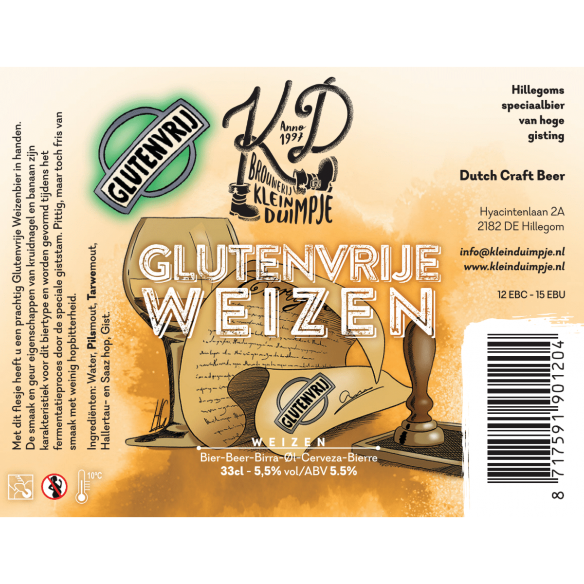 Glutenvrije Weizen